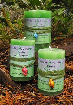 This Goddess of Abundance and Fertility Candle is made with Pure Lavender, Orange, Geranium, Spruce and Ylang Ylang Essential Oils. This is a green Natural Aromatherapy Candle that with a clay figurine in assorted colors that can be worn as a pendant. Essential Oils, Lets Make A Baby, Oil Benefits, Health Benefits, Aromatherapy Candles, White Candles, Book Of Shadows, Candle Making, Witches
