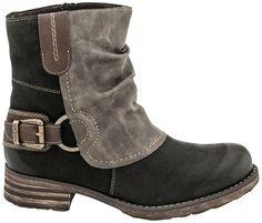 Remonte R6293 Wynette boot, Women, Unique Antistress Comfort Footwear, PlanetShoes.com (Schwarz/Stromboli/Kaka)