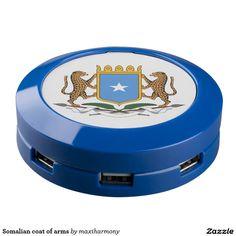 Somalian coat of arms USB charging station