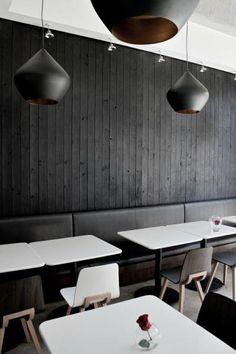 Barnwood Naturals, LLC - Reclaimed Design - Home  basement~ charred wood