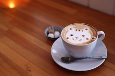 Cat Coffee Art - one more reason to <3 it
