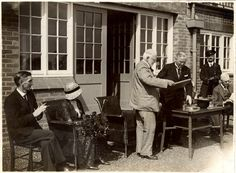 Second photograph taken at the official opening of the NWP sports ground on Saturday 18th June, 1932.