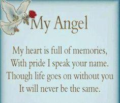 angelversary for Nana | Via Darlene Austin
