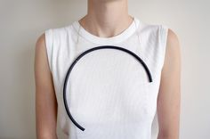 Explore the sensation of wearing jewellery. Made by Évelie Mouila. Gorgeous  design!