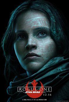 Star Wars Rogue One: Huit nouveaux posters présentant les personnages du film | Star Wars HoloNet