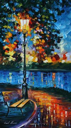 Charm Of Loneliness - by Leonid Afremov