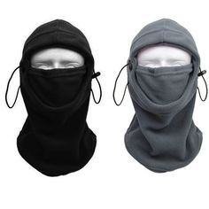 Outdoor of Motorcycle Fleece Neck Hat Winter Ski Full Face Mask Cover Cap c26be2dcb