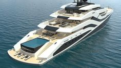 This 249-Foot Superyacht Concept Belongs in Ibiza | Boating & Yachting #yachtparty