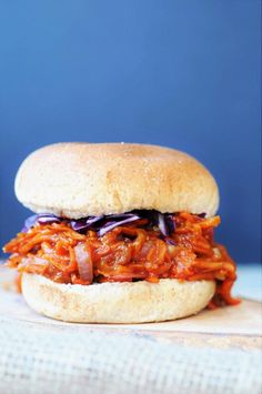 "<strong><em>Chewy, meaty, healthy, and delicious pulled BBQ carrots. A must try!</em></strong>  <img class=""aligncenter wp-image-8018 size-full"" src="" ..."