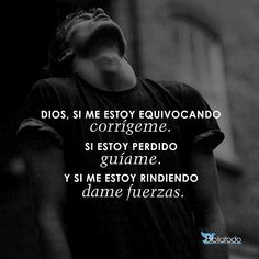 Dear Lord, My Lord, Blessed Is She, God Loves Me, Spanish Quotes, Quotes About God, God Is Good, Gods Love, Bible Quotes