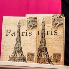 Mais detalhes da festa Paris. O livro Torre Eiffel está disponível em nosso site: www.facaafesta.com