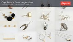 Cape Town's Favourite Jewellers - Accessorise: Designer Jewellery Heaven, From Dendritic Agate, Gold And Silver Rings, Jewellery Sale, Designer Jewellery, Hair Pins, Jewelery, Sapphire, Jewelry Design, Hair Accessories