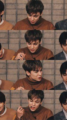 Seventeen Going Seventeen, Vernon Seventeen, Seventeen Album, Seventeen Memes, Woozi, Jeonghan, Vernon Hansol, Choi Hansol, Hip Hop