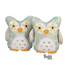 Owl bookends by Lolli Living for owl themed nursery or toddler room.