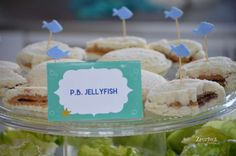 Zperfect Party's Birthday / Whale Theme Under the Sea - Photo Gallery at Catch My Party Whale Birthday Parties, First Birthday Themes, 1st Boy Birthday, First Birthdays, Birthday Ideas, Whale Food, Pool Party Snacks, Whale Party, 2nd Baby Showers