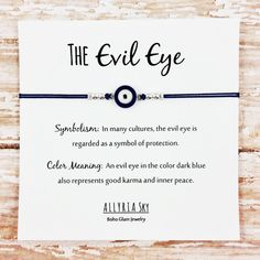Image result for evil eye colours meaning
