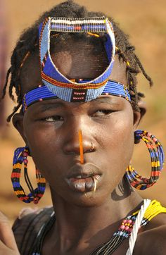Africa | Jie woman. South Sudan | ©World_Discoverer, via flickr