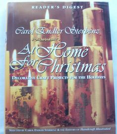 Reader's Digest At Home for Christmas 1998 HC (21915-248) holiday books $3.00