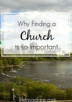 It can be easy to slack off when it comes to church when you move out, but it's so important to stay strong as a young adult. Here are some reasons why going to church is so important for your faith! Lifeasadare.com