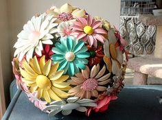 Enamel Brooch Bouquet