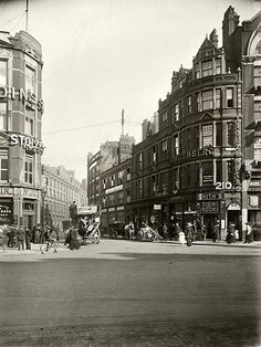 Streets of London: Spitalfields a century ago - in pictures