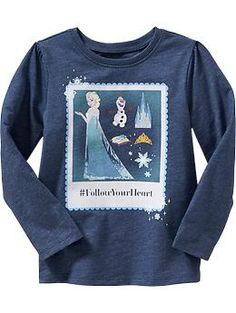 Lily: (really any frozen themed shirt) Disney© Frozen Tees for Baby Frozen Outfits, Disney Outfits, Cute Outfits, Frozen Clothes, Old Navy Girls, Toddler Girl Outfits, Kid Styles, Maternity Wear, Disney Frozen