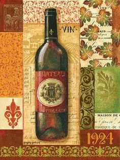 CUADROSTOCK.COM - Cuadro Old World Wine II / Gregory Gorham