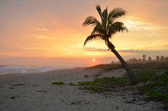 Sunset at Playa Viva