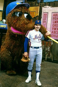 Keith Hernandez.......remember the Seinfield episode?  Very funny