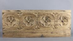 Antique-French-Carved-wood-Pediment
