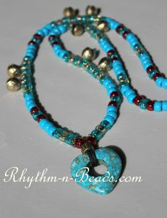 Rhythm-n-Beads® by Deborahlynn by RhythmnBeads Horse Necklace, Beaded Necklace, Horse Mane, Jewelry Cleaning Cloth, Thing 1, Collar Styles, Chrome Plating, Necklace Designs, Classic Style