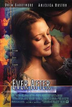 EVER AFTER: A CINDERELLA STORY ORIGINAL 27x40 MOVIE POSTER (1998) BARRYMORE