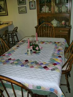 Boston Commons Quilt Table Topper