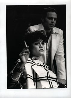 Angelique Rockas as the bruised Miriam and Nic d`Avirro as Mark in Internationalist Theatre`s London premiere of Tennessee Williams`  IN THE BAR OF A TOKYO HOTEL` at the New End Theatre , Hampstead. https://www.flickr.com/photos/internationalist_theatre_rockas/albums/72157627979736863 https://en.wikipedia.org/wiki/Internationalist_Theatre https://flic.kr/p/aDNTWj |