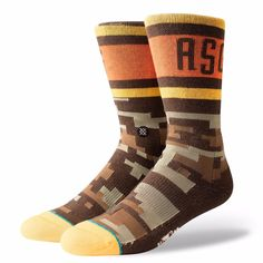 NEW STACE Home Run Derby All Star Game Classic Pique  Socks Mens Size L 9-12 #Stance #Crew