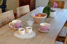 dekket tebord ingridk keramikk Earthenware, Pottery, Tableware, Kitchen, Decor, Ceramica, Dinnerware, Cooking, Decoration
