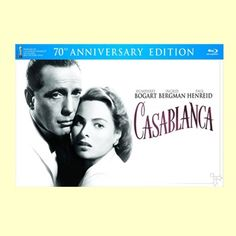 Had to do it - quite a splurge - but it includes the poster, script, etc.! #casablanca 70th Anniversary