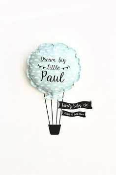 Balloon fabric and its customizable stickers kit Ballon-Stoff und seine Kit Autocollant, anpassbar. How To Make Diy Projects, Deco Ballon, Ballon Decorations, Wall Decor Quotes, Silhouette Cameo Projects, Diy Pillows, Baby Room Decor, Baby Crafts, Creative Kids