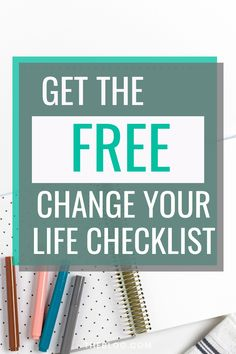 The CHANGE YOUR LIFE CHECKLIST has I ideas that may help you move your life forward! Daily Goals, Life Goals, Relationship Goals, Skinny Motivation, Need Motivation, Financial Goals, Business Goals, Health Goals, How To Stay Motivated