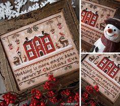 Magic Christmas Eve  Digital PDF Cross di LittleStitcherShop, $11.00