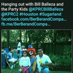 My Mom was hanging out with Bill Balleza from Ch.2 out here in Houston! #houston #htown #atx #proud2cover #smile