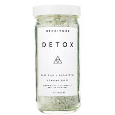 Herbivore Botanicals Detox Dead Sea Salts ($18) ❤ liked on Polyvore featuring beauty products, bath & body products, body cleansers, beauty, filler and herbivore