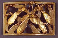 Art Nouveau,Lucien Gaillard brooch