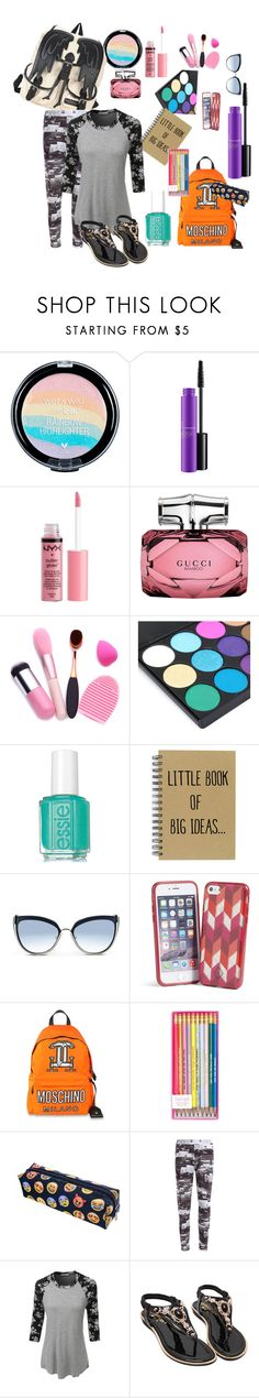 """What's inside my bags!!"" by tedegirl ❤ liked on Polyvore featuring MAC Cosmetics, Charlotte Russe, Gucci, Karl Lagerfeld, Vera Bradley and LE3NO"