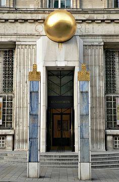 Joseph Maria Olbrich - Vienna Secession (Art Nouveau) Building ...