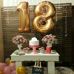 Birthday Party Decorations For Adults Women Simple Harry Potter Ideas Birthday Party Decorations For Adults, Fairy Birthday Party, Birthday Party For Teens, Birthday Table, Birthday Girl Pictures, Birthday Goals, Golden Birthday, Its My Bday, Birthday Balloons