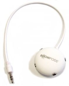 Multipod Audio Splitter - White Technology Gadgets, Over Ear Headphones, Audio, Iphone, Products, Gadget