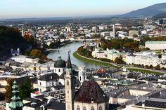 Salzburg - um dia na charmosa cidade de Mozart! -