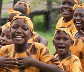 My happy place... listening to the #Mwangaza Children's Choir