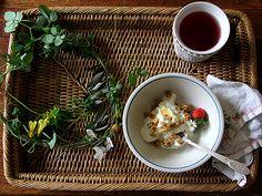 Breakfast, relax